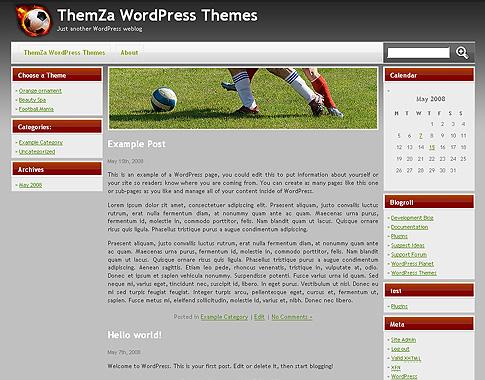 Football Mania для WordPress