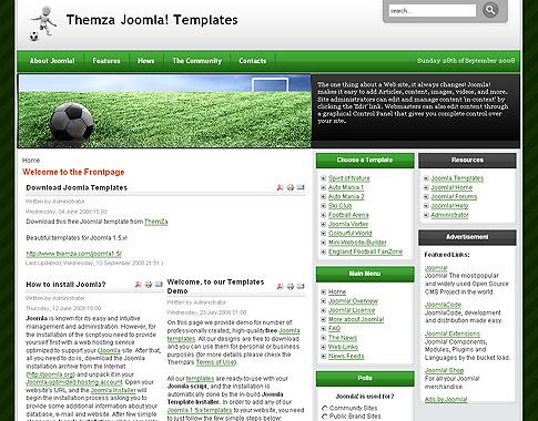 England Football FanZone для Joomla